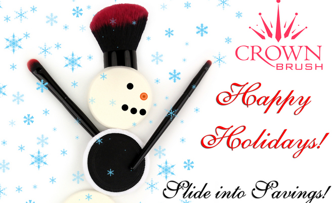 Crown Brush 40% Off Holiday Sale