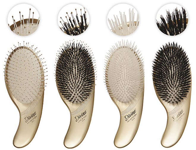 Olivia Garden Divine Hair Brushes