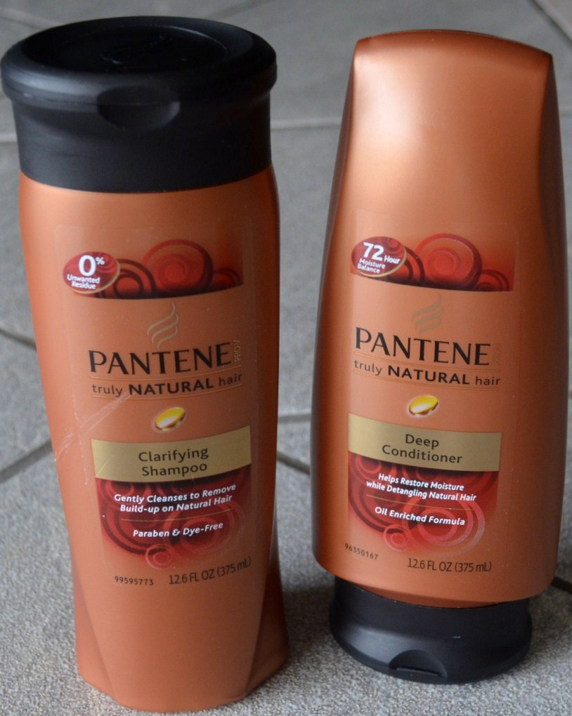 Pantene Pro-V Truly Natural Clarifying Shampoo & Deep Conditioner