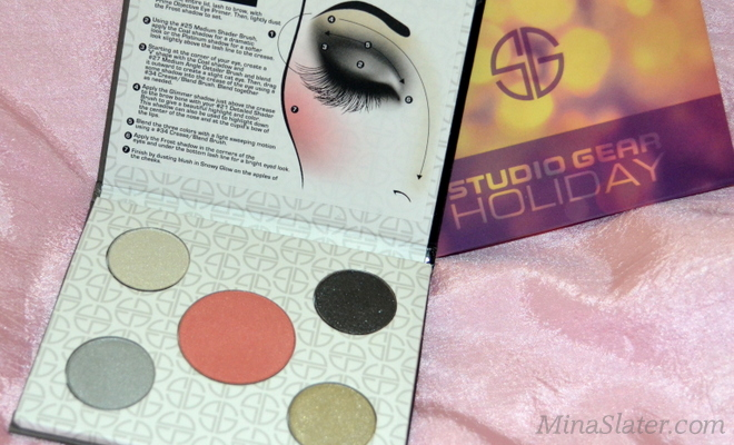 Studio Gear Cosmetics Holiday Smokey Eye Palette