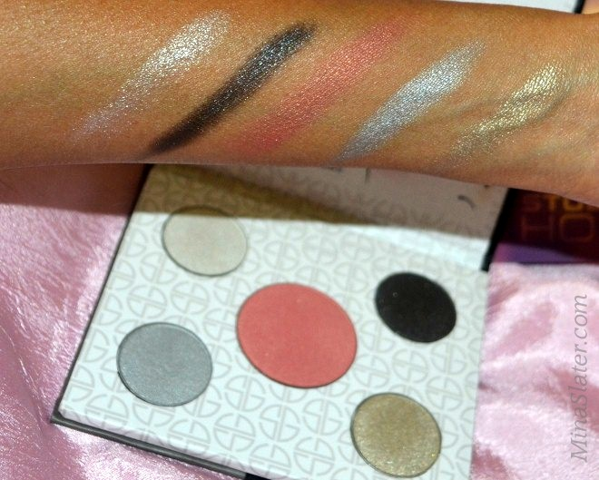 Studio Gear Cosmetics Holiday Smokey Eye Palette Swatches