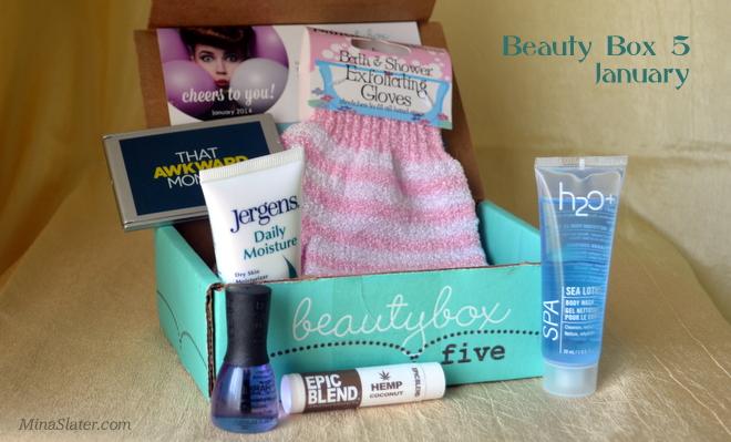 Beauty Box 5 January 2014
