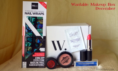 Wantable Makeup Box December 2013
