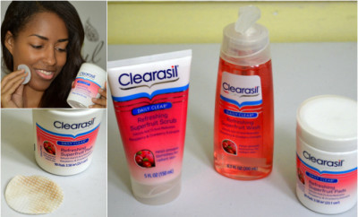 Clearasil Daily Clear Superfruit #WinTheDay