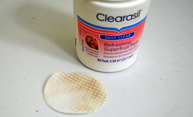 Clearasil Daily Clear Superfruit Pads #WinTheDay
