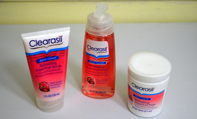 Clearasil Superfruit #WinTheDay