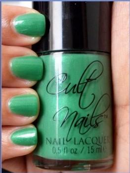 Cult Nails Feelin Froggy Nail Polish