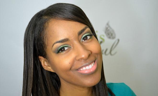 Green Eye Makeup - St Patrick's Day Makeup Look