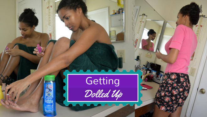 Getting Dolled Up With Herbal Essences Body Wash