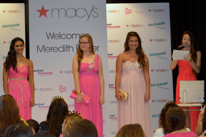 Macy's Prom Fashion Show 2014 - Mall at Millenia - Orlando, Florida