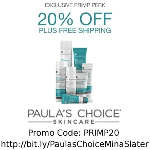 Get fab PaulasChoice for 20 off  free shipping wcodehellip