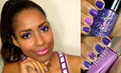 Put On Purple - Lupus Awareness Makeup & Nails #PutOnPurple