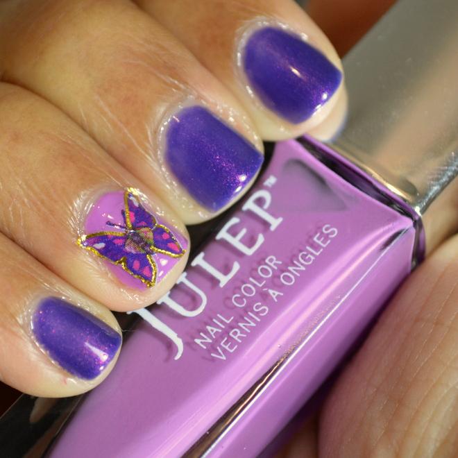 Lupus Awareness Nails - Put On Purple