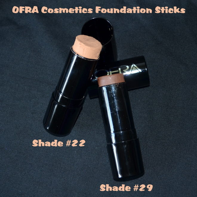 OFRA Cosmetics Foundation Sticks - Shades 22 & 29