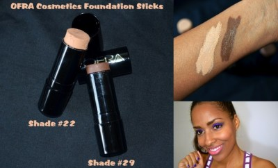 OFRA Cosmetics Foundation Sticks - Shades 22 & 29