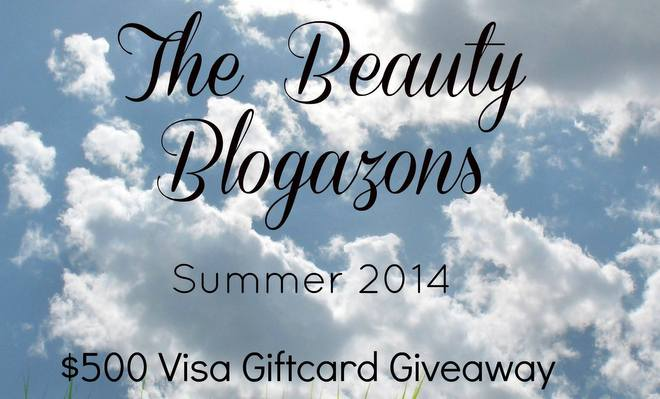 The Beauty Blogazons Summer $500 Visa Gift Card Giveaway