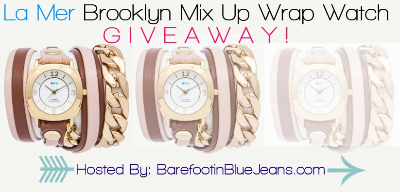La Mer Brooklyn Mix Up Wrap Watch Giveaway