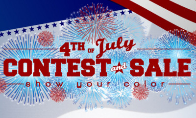 OFRA Cosmetics Show Your Color Contest & Sale - 4th of July