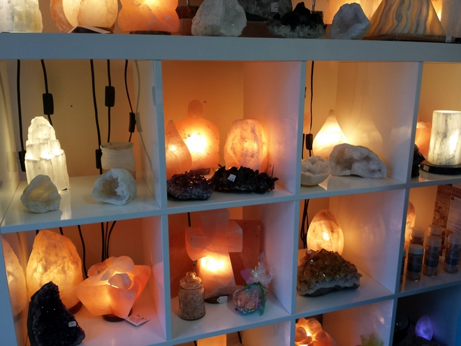 You can even purchase your own salt lamp at Salt Room Millenia