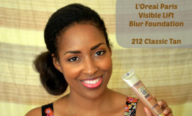 L'Oreal Paris Visible Lift Blur Foundation - Classic Tan via @MinaSlater
