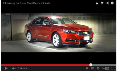Chevy Impala Video