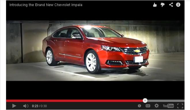 Chevy Impala Video