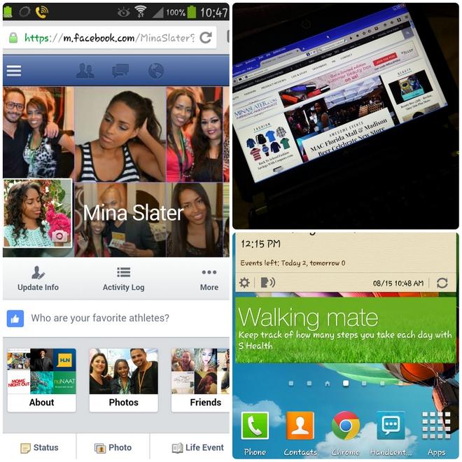 Mina Slater Multi-Device Screenshots