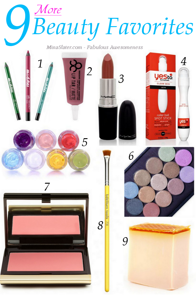 9 More Beauty Favorites