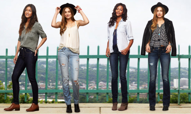 American Eagle Outfitters Fall Denim Collection + Big Sale Info