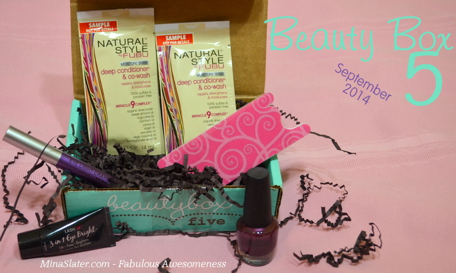 Beauty Box 5 - September - Balancing Act #BB5