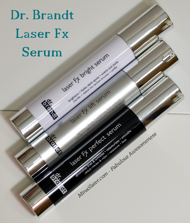 Dr. Brandt Skincare - Laser Fx Bright Serum, Laser Fx Lift Serum & Laser Fx Perfect Serum