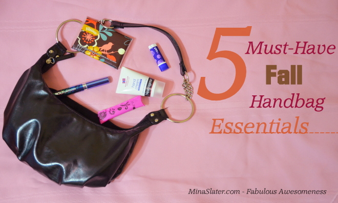 Top 5 Must Have Fall Handbag Essentials