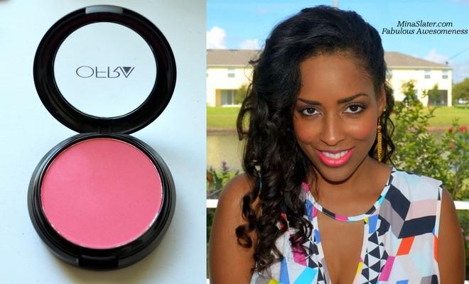 Paradise Pink Makeup Look via @minaslater