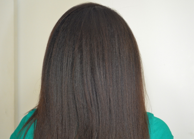 After using Aveda Naturally Straight twice