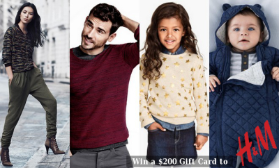 $200 H&M Gift Card Giveaway via @MinaSlater #FashionistaEvents