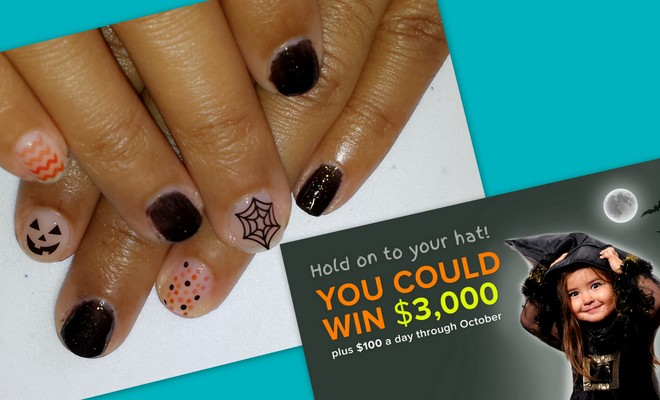 Easy Halloween Nails & More + Coupons.com #Creepstakes