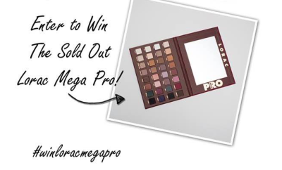 Lorac Mega Pro Palette Giveaway