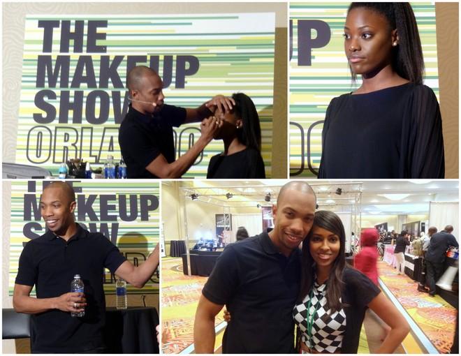 AJ Crimson at The Makeup Show Orlando 2014