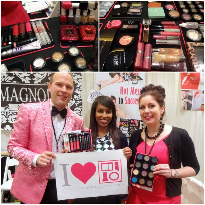 Beauty Butler at The Makeup Show Orlando 2014