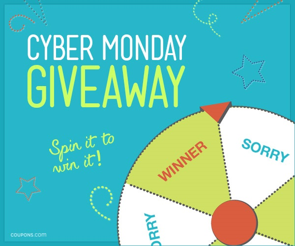 Coupons.com Cyber Monday Giveaway