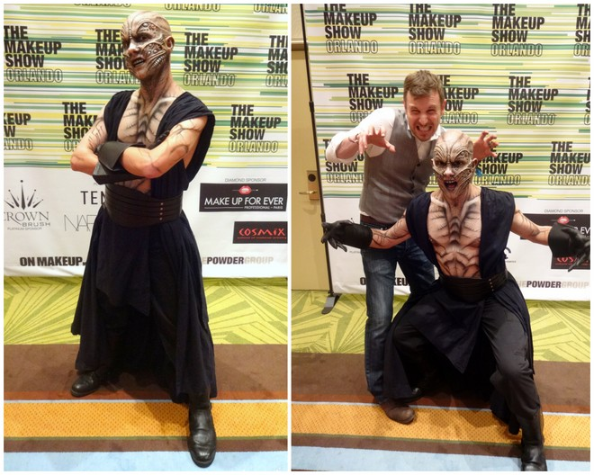Jonah Levy at The Makeup Show Orlando 2014