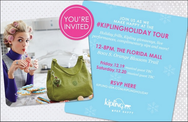 Kipling Holiday Tour Orlando
