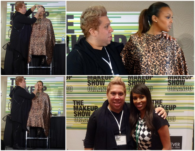 Renny Vasquez at The Makeup Show Orlando 2014