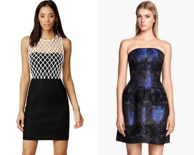 DVF Diane von Furstenberg Caught Up Sheath Dress + H&M Bandeau Dress - Floral