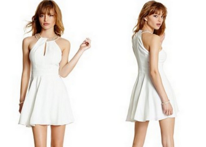 Guess Marciano Collection Joleen Dress - White