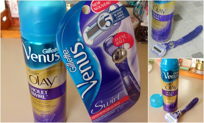 Shaving While Afraid With Gillette Venus Swirl Razor #NewVenusSwirl