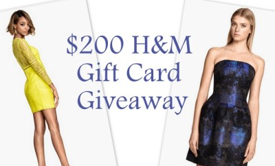 $200 H&M Gift Card Giveaway #FashionistaEvents