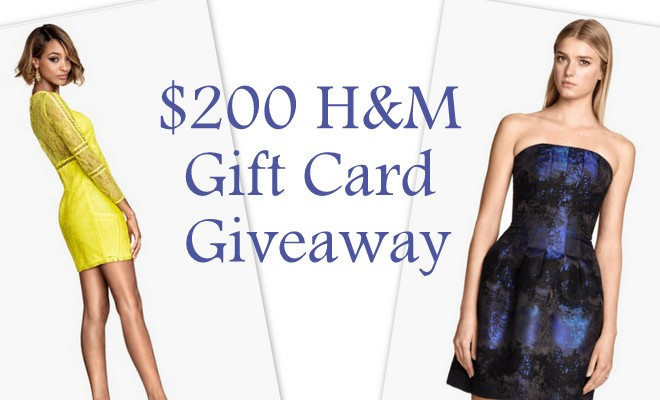 $200 H&M Gift Card Giveaway – Spring Fashionista #FashionistaEvents
