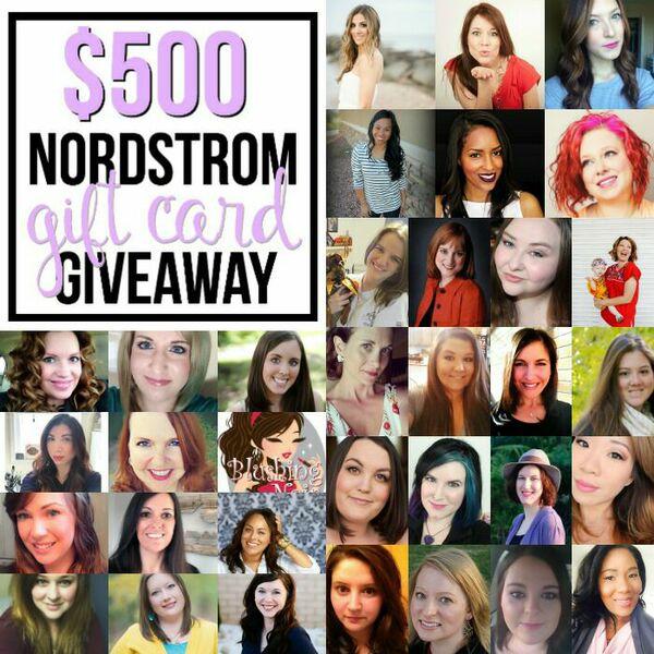 Blogger Giveaway - Nordstrom Gift Card