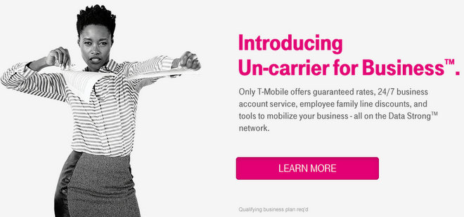 T-Mobile Un-carrier for Business